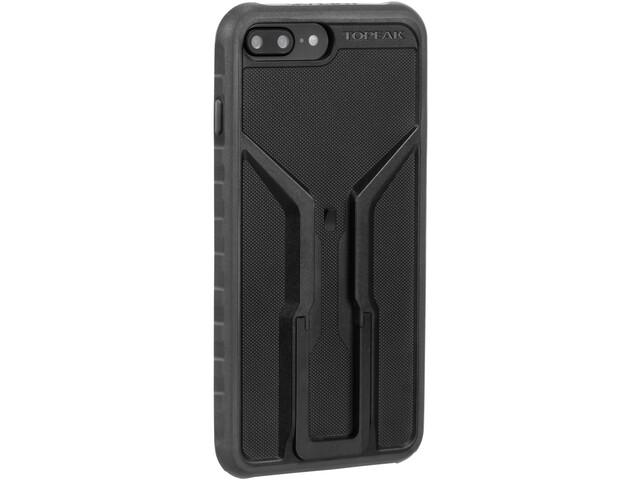 Topeak Ridecase für iPhone 6+/6S+/7+/8+ Hülle mit Halter schwarz/grau